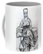 East Asian Woman Coffee Mug