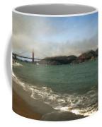 East Beach And Golden Gate Coffee Mug