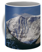 1m3743-east Face Mt. Kitchener With Cloud Coffee Mug