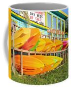 East Of Maui - Dewey Beach Delaware Coffee Mug