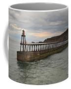 East Pier Whitby Coffee Mug