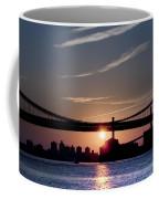 East River Sunrise - New York City Coffee Mug