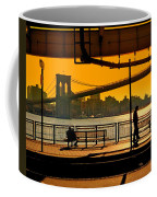East River Sunset Coffee Mug