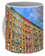 East Village Buildings On East Fourth Street And Bowery Coffee Mug