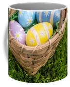 Easter Basket Coffee Mug by Edward Fielding