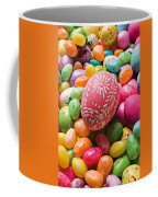 Easter Egg And Jellybeans  Coffee Mug by Garry Gay