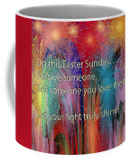 Easter Inspiring Digital Painting Coffee Mug