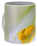 Easter Lily Macro Coffee Mug