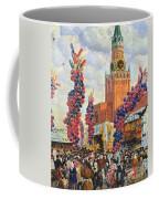 Easter Market At The Moscow Kremlin Coffee Mug