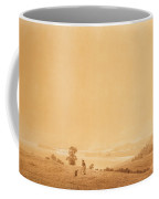 Eastern Coast Of Ruegen Island With Shepherd Coffee Mug