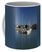 Eastern Side Moorings - Ryde Harbour Coffee Mug