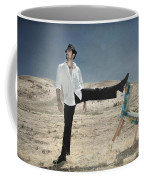 Easy Breezy Cool Coffee Mug by Laurie Search