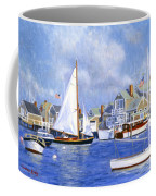 Easy Street Basin Blues Coffee Mug by Candace Lovely