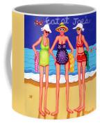 Eat At Joes - Beach Gossip Coffee Mug