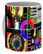 Eat Drink Explore Repeat 20140713 Horizontal Coffee Mug