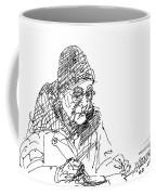 Eating  Coffee Mug