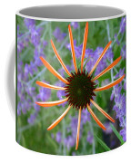 Echinacea Mango Coffee Mug