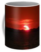 Eclipse Over Marion Reservoir 3 Coffee Mug