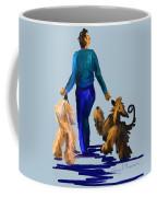 Eddie Dancing With Dogs Coffee Mug