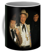 Edgar Buchanan Chills Wills  Johnny Cash Porch Old Tucson Arizona 1971-2008 Coffee Mug