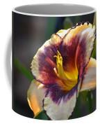 Edged In Crimson - Lily Coffee Mug
