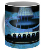 Edgy Abstract Eclectic Guitar 17 Coffee Mug