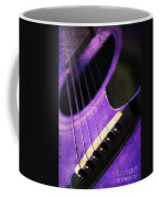 Edgy Purple Guitar  Coffee Mug