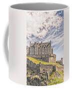 Edinburgh Castle Painting Coffee Mug