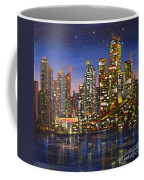 Edmonton Night Lights Coffee Mug
