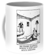 Edna Remained Steadfastly Impervious To Sven's Coffee Mug