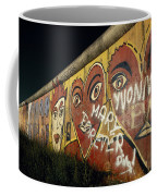 Berlin Wall Hearts Coffee Mug