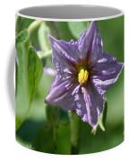 Egg Plant Blossom Coffee Mug
