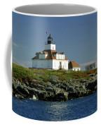 Egg Rock Lighthouse Coffee Mug by Kathleen Struckle