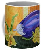 Eggplant And Alstroemeria Coffee Mug