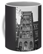 Egress Building In Black And White Coffee Mug