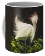 Egret 12 Coffee Mug