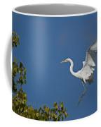 Egret Landing Coffee Mug