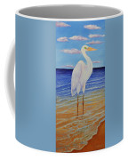 Eager Egret  Coffee Mug