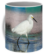 Egret Reflections- 2  Coffee Mug