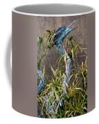 Egret Statue Coffee Mug