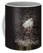 Egret Strut Coffee Mug