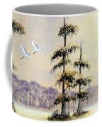 Egrets Over Wakulla Springs Coffee Mug