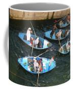 Egyptian Entrepreneurs At The Canal Locks Coffee Mug