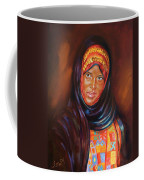 Egyptian Nubian Girl Coffee Mug
