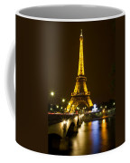 Eiffel At Night Coffee Mug