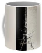 Eiffel Tower Abstract Bw Coffee Mug