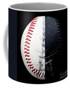 Eiffel Tower Baseball Square Coffee Mug