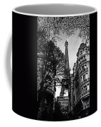 Eiffel Tower Black And White Coffee Mug