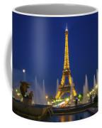 Eiffel Tower By Night  Coffee Mug
