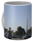 Eiffel Tower In The Distance Coffee Mug